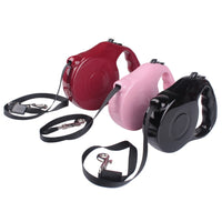 Retractable Pet Leash Lead Extendable Training 5M 3M 2016 NEW Arrival-Justt Click