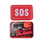 Emergency Equipment SOS Kit Car Earthquake Outdoor Camping Survival Tool-Justt Click