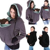 2017 NewwBaby Wearing Fleece Jacket Kangaroo Hoodie 3 In 1 - Justt Click