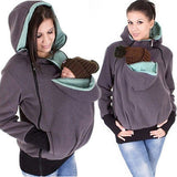 2017 NewwBaby Wearing Fleece Jacket Kangaroo Hoodie 3 In 1-Justt Click