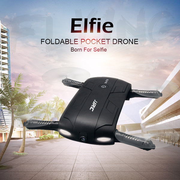 JJRC H37 Elfie 2.4G 4CH Mini WifiMode selfie 0.3MP Camera Phone Control RC Quadcopter - Justt Click