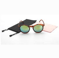 Fashion multicolour New mercury Mirror glasses men sunglasses women male female-Justt Click