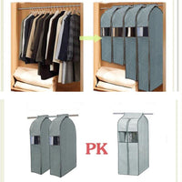 Large Capacity Cloth Hanging Suit Coat Dust Cover Wedding Dress Hanging Bags Organizer Storage Bag Wardrobe Storage Bag-Justt Click
