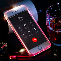 Led Flash Case for iPhone 7 6 6s plus, ROCK Light Flash Calling notice Tube series phone case-Justt Click