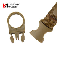 Outdoor Military Nylon Key Hook Webbing Molle Buckle Outdoor Hanging Belt-Justt Click