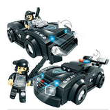 Military Swat Car Patrol Car City Police Figure Building Blocks Children Toy-Justt Click