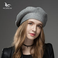 2017 Mosnow 2017 New Wool Cashmere Hat For Women - Justt Click