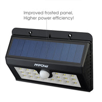 20 Bright LED Solar Lights, Mpow 3-in-1 Wireless Weatherproof - Justt Click
