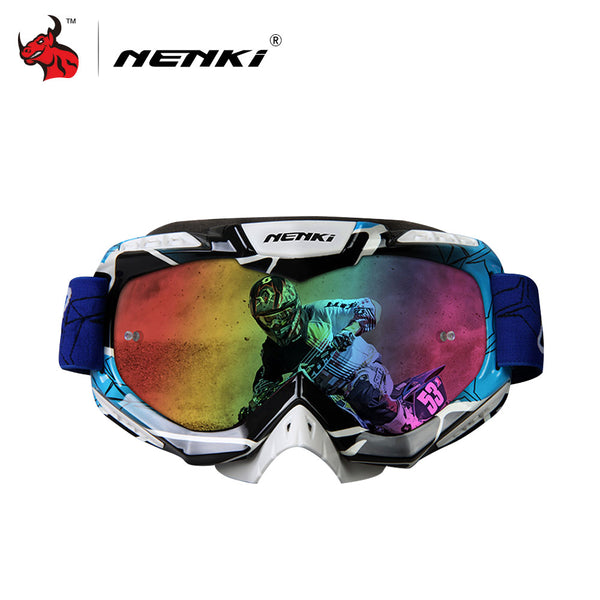 NENKI Professional Adult Motocross Goggles Men Women Motorcycle Racing Skiing Snowboard-Justt Click