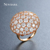 Newbark Spring Lovely Big Ring for Women Amazing Jewelry Gifts-Justt Click