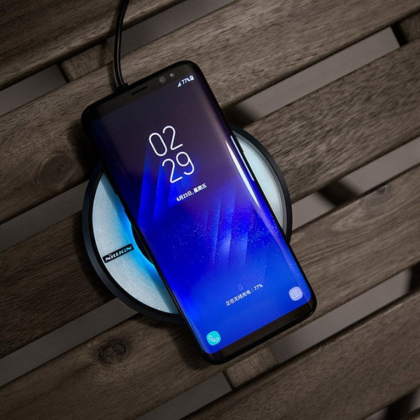 Fast charger for samsung s8 s8 Plus Qi Fast Wireless Charging Pad for Galaxy S7/S7Edge/Note 5/Note 8 wireless charger-Justt Click