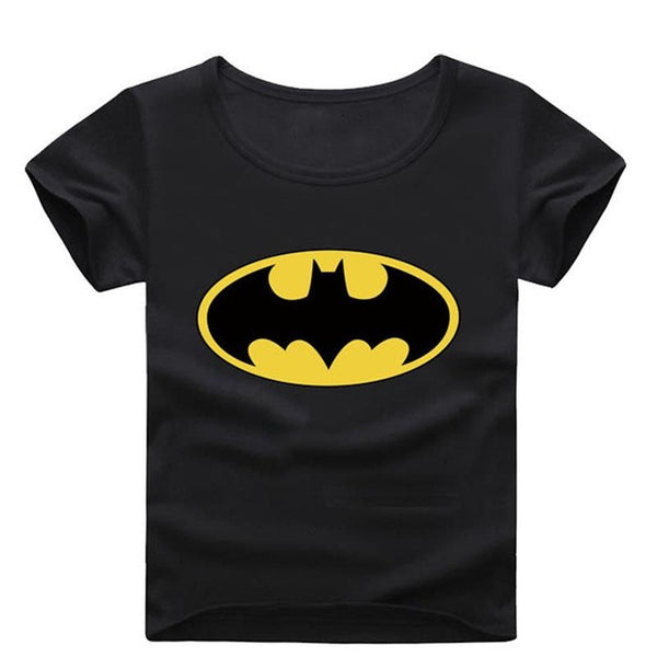New Kids Boys Girls Batman Tshirt Unisex-Justt Click