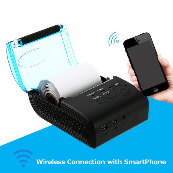 New Arrival ZJ - 5805 58mm Bluetooth 4.0 Android 4.0 POS Receipt Thermal Printer Bill Machine-Justt Click