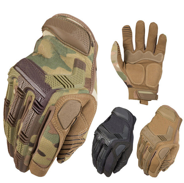 REEBOW GEAR Tactical Outdoor Gloves Full Finger Protective Rubber Sports Camping-Justt Click