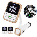 Handsfree LCD Wireless Bluetooth Mp3 Player Cars Charger FM Transmitter Remote Control-Justt Click