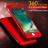 Brand New High Quality Ultra Slim 360 Protection iphone Case-Justt Click