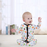 Newborn Baby Boy Girl Clothes Long Sleeve Cartoon Printed Jumpsuit Baby Romper Christmas Similar Mother Nest Clothes-Justt Click