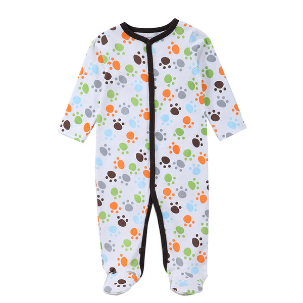 Newborn Baby Boy Girl Clothes Long Sleeve Cartoon Printed Jumpsuit Baby  Romper Christmas Similar Mother Nest ... f24180977