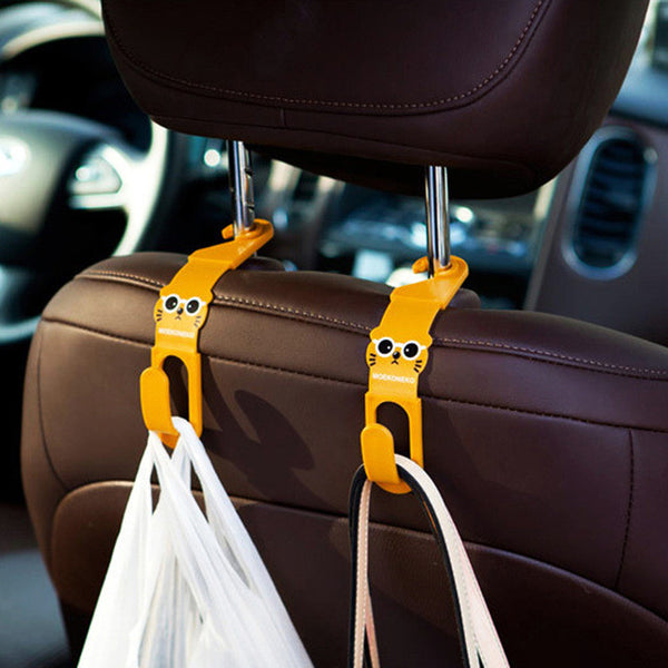 2 PC Car Seat Hanger-Justt Click