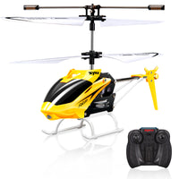 Original Syma RC Helicopter with Gyro Mode 2 RTF without Camera Remote Control Toys with One set of Blades as Gift-Justt Click