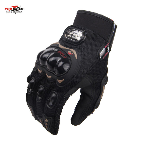 PRO-BIKER Motorcycle Gloves Outdoor Sports full finger knight riding motorbike Motorcycle Gloves-Justt Click