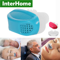 Patent PM2.5 CPAP Stop Snoring Sleeping Anti Snore Apnea Ventilation Nose Breath Apparatus-Justt Click