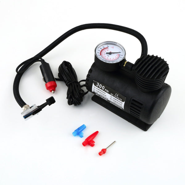 Portable 12V Auto Car Electric Air Compressor Tire Infaltor Pump-Justt Click