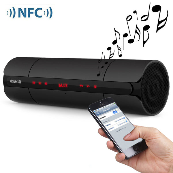 Portable KR8800 NFC FM HIFI Bluetooth Speaker Wireless Stereo Loudspeakers Super Bass-Justt Click