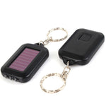 Mini Portable Key Chain Keychain Solar Energy Power 3 LED Lamp-Justt Click