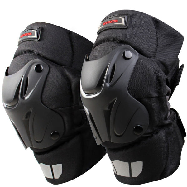 Protective Kneepad Motocross Motorcycle equipment Knee Protector bike Scooter Racing Guards road-Justt Click