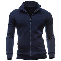 2017 Male Hoodies and Sweatshirts Fashion Mens Hoodie Front Zipper Spring Autumn Casual Wear Male Hoodies - Justt Click