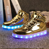 7 Colors New LED Kids Shoes 2017-Justt Click