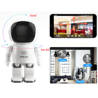 New 1.3MP Wifi Robot CCTV Network IP Camera Security IR Night Vision Pan/Tilt-Justt Click