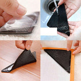 4 × Rug Carpet Mat Grippers Non Slip Anti Skid Reusable Washable Silicone Grip-Justt Click