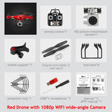 Dron Quadrocopter FPV Drones With Camera HD Quadcopters With WIFI Camera RC Helicopter Remote Control Toys VS Syma x5c-Justt Click