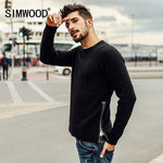 SIMWOOD 2017 New Autumn Winter Cotton Sweaters-Justt Click