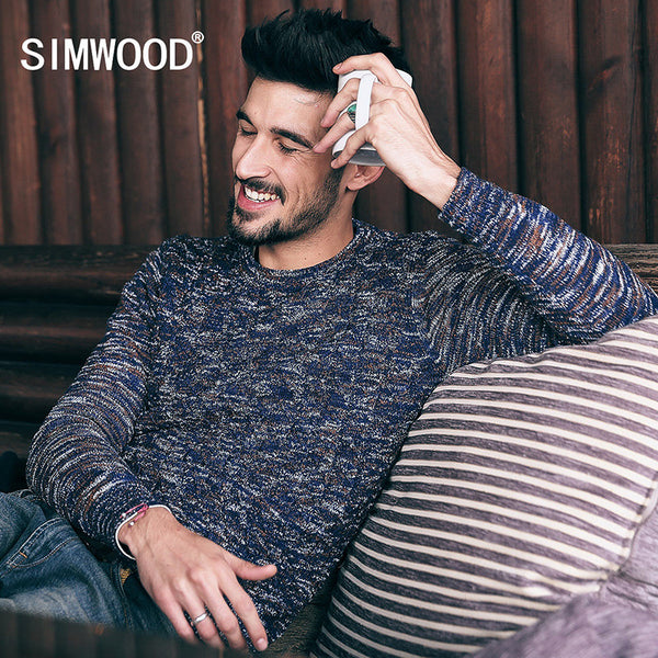SIMWOOD 2016 New Cotton Sweaters Fashion Kintwear Pullovers-Justt Click