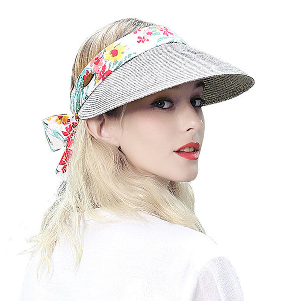 2017 High Quality Women Fashin Sun Visor Summer Sun Hat-Justt Click