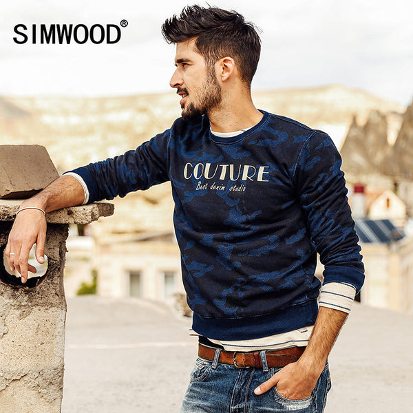 SIMWOOD 2016 New Autumn Winter Cotton Sweaters-Justt Click
