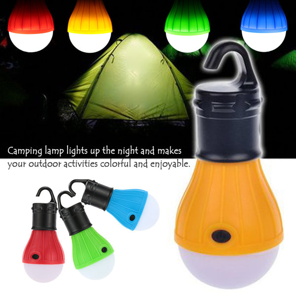 New item Portable Outdoor Hanging LED Camping Tent Light LOVE romantic Lantern Lamp 2 Colors-Justt Click