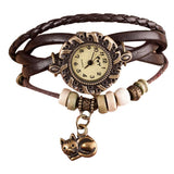 Women's Cat Pendant Stylish Watches-Justt Click