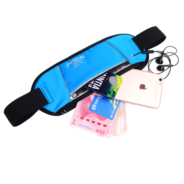 Tanluhu Ultralight Running Waist Bag Women Outdoor Sports Bag Jogging Gym Waist Pack Men Purse-Justt Click