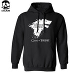 Top quality cotton blend game of thrones hoodies casual winter is coming sweatshirt-Justt Click