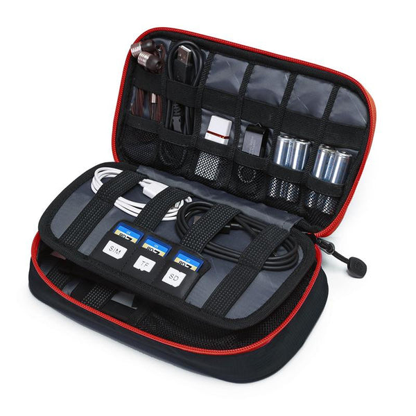 Tourist New Travel Bags Data Cable Practical Earphone Wire Storage Bag Power Line Organizer-Justt Click