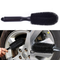 New Wheel Tire Rim Scrub Brush Car Truck Motorcycle Bike Washing Cleaning Tool-Justt Click