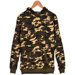 Men's Fashion Long Sleeve Camouflage Printing Cotton Casual Sport Hooded Pullover Hoodie-Justt Click