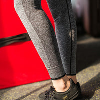 Women Sport Yoga Pant Running Pants Leggings Stretchy Trousers Gym Fitness-Justt Click