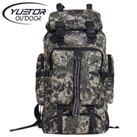 Outdoor Sport 80L Waterproof Travel Hiking Camping Luggage Backpack Rucksack Bag-Justt Click