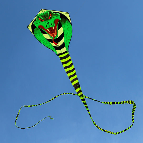 high quality 15m large snake kite cobra kite with handle line outdoor toys for adult bird kite eagle animal bee-Justt Click