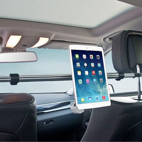 "7""-11"" Aluminum Tablet Holder Car Back Seat Tablet Car Mount Stand-Justt Click"